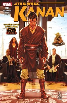 Kanan #8  Young Caleb Dume has not yet been to war...but now, the Jedi Temple is under attack! Can a Padawan really make a difference?