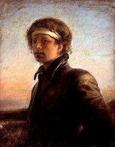 Odd Nerdrum - Self portrait in the Evening Sun, 1977 - The Nerdrum Institute - Sales, Research & Exhibitions of Odd Nerdrum Works Classic Paintings, Paintings I Love, Contemporary Paintings, Caravaggio, Helsingborg, Rembrandt, Oil Portrait, Best Portraits, Modern Artists