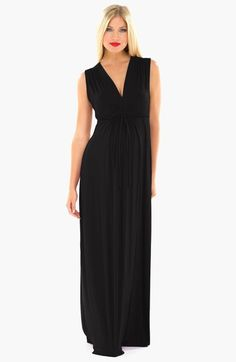 Olian 'Angeline' Maternity Maxi Dress available at #Nordstrom