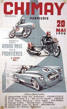 1956 XVI Grand Prix des Frontieres-Chimay Belgium