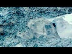 Climate change caught in action in iceberg destruction