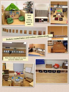 Passionately Curious: Learning in a Reggio Inspired Kindergarten Environment: FDK Learning Environment: What messages are you sending your c...