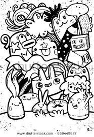 Image result for doodle monsters
