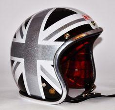 RocketGarage Cafe Racer: Joe King Helmet