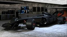 Batmovel - Cocept Car F1 Formule 1 Formula 1