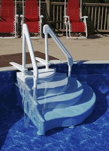 Swimming Pool Wedding Cake Step Swimming Pool Ladders