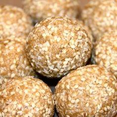 No Blend Sesame Balls #LCHFforkids #bantingforkids #LCHF #banting