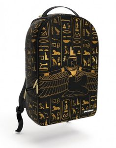 419ce6694aa Isis Backpack  isis  hieroglyphics  egypt  egyptian  sphinx  ankh  pyramid