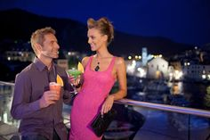 The Top bar at Adriana, hvar spa hotel