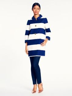 franny coat with back bow - kate spade new york