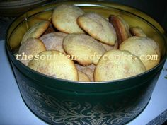 These cookies are good anytime and wonderful for the holidays.  They have such a wonderful flavor and are very easy to make. You will love these Southern treats and your guests will come back fo...