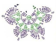32 Fantastiche Immagini Su Farfalle Uncinetto Butterflies Crochet