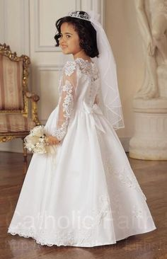 Communion dress … | Pinteres…
