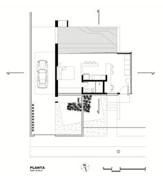 House 12.20 is a modern bachelor pad in Brazil. It has a 484 sq ft studio plan, although the bedroom area could easily be closed off.   www.facebook.com/SmallHouseBliss