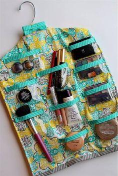 DIY Makeup Tutorials : DIY Hanging | Cool Makeup Organizers To Give Your Makeup A Proper Home...  https://diypick.com/beauty/diy-makeup/diy-makeup-tutorials-diy-hanging-cool-makeup-organizers-to-give-your-makeup-a-proper-home-2/