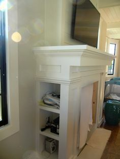 Fireplace cabinetry built-ins: ours will have storage for stacking ...