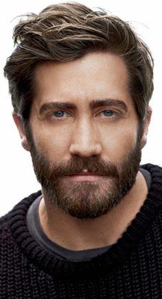 cool I've never been so hot for a beard! ~ Jake Gyllenhaal...