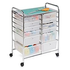 image of Honey-Can-Do® Studio Organizer Cart with Drawers