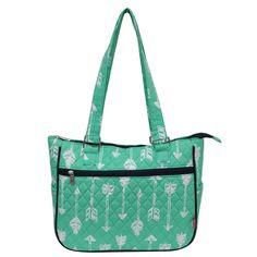 Ngil Quilted Cotton Shoulder Bag