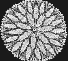 Handmade White Crochet Doily Wheat Field by jannacadle on Etsy, $29.00