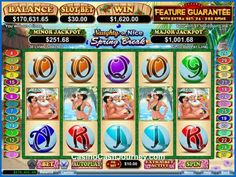 Naughty or Nice - Spring Break is a 5 reel, 30 payline, Real Time Gaming or RTG progressive video slot machine. More this way.... http://www.casinocashjourney.com/realtime-gaming-slots/naughty-or-nice-spring-break.htm