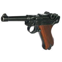 Luger ME P08 Antik Look Schreckschusspistole 9mm P.A.K.