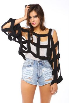 strapped shirt #shirt