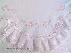 Izabel Biali Embroidery: TURN BABY BLANKET--inspiration