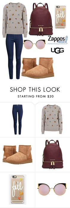 """""""The Icon Perfected: UGG Classic II Contest Entry"""" by carly-olly ❤ liked on Polyvore featuring Barbour, UGG Australia, Michael Kors, Casetify, Fendi, ugg and contestentry"""
