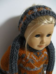 "American Girl Doll Clothes -- FallSweaters-- "" Grace "" on Etsy, $37.00"