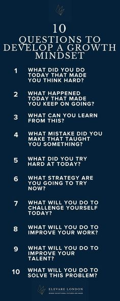 A growth mindset is an essential tool for a resilient, successful child. Teach them how to develop one wit these leading questions, to be answered in a family activity, a journal, or any other way your children like to express themselves! This Or That Questions, Question Of The Day, Love Questions, Personal Questions, Self Development, Personal Development, Leadership Development, Coaching Personal, Learning