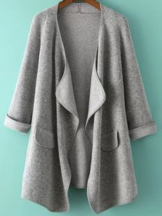 Shop Grey Long Sleeve Loose Cardigan online. SheIn offers Grey Long Sleeve Loose Cardigan & more to fit your fashionable needs.