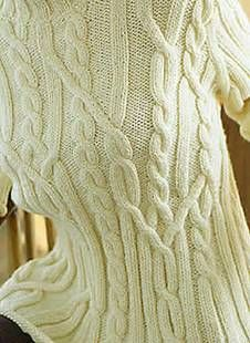 265 Bergere de France pattern free knitting patterns cable sweater