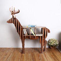Deer Puzzle Table via Dot