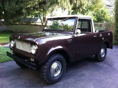 Don't let the big knobbies fool you: This 1962 International Scout 80 for sale on Hemmings