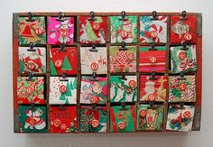 Advent Calendar with Coca-Cola Crate - Craftfoxes