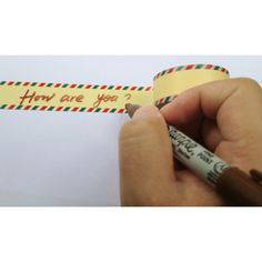 Masking tape air mail 4