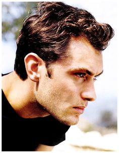 Jude Law. Is it just me, or is it getting hot in here?