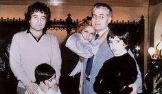 Dali et ses frères, Bruno et Orlando, et ses neveux, Luigi et Roberto