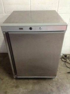 Underbench Commercial Freezer 140LT Stainless Steel LED Display Cafe BAR | eBay