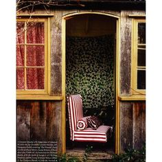 "The World of Interiors | ""Cabanon"" fabric from Christian Lacroix Maison"