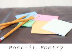 Post-it Poetry