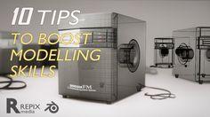 blender tutorial : 10 tips that will boost your modelling skills in blender