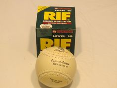 Worth level 10 RIF Reduced injury factor official R-12WSD white softball NOS NIB #Worth