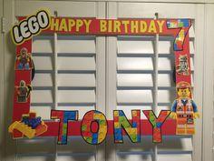 Marco de fotos LEGO por ScozShop en Etsy