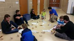 Volunteers helped to ensure the Kloefkorn Science and Engineering Night was fun and educational for young students.