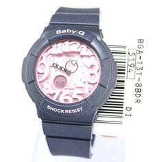 7e73c837715e Casio Ladies Baby-G Battery Watch NIB Warranty BGA-131-8B
