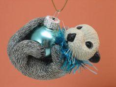 Custom order Otter Ornament