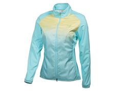 No need for a rain check this season. Play through any weather with bargain priced gear from 2nd Swing Golf! New Women's Puma Golf Storm Cell Patterned Wind Jacket Aqua Splash Medium 565805 #Puma #WindJacket #WomenGolf #LoveGolf #2ndSwingGolf