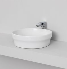 POP, design Meneghello Paolelli Associati. #bathroom #sanitaryware countertop washbasin